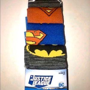 DC Comics Justice League socks